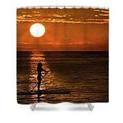 Dreaming Shower Curtain by Debra and Dave Vanderlaan