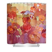 Dreaming Flowers Shower Curtain
