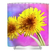 Dreaming Of Dandelions Shower Curtain