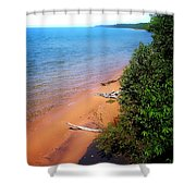 Dreaming Of Lake Michigan Shower Curtain