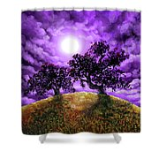 Dreaming Of Oak Trees Shower Curtain