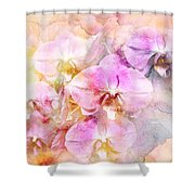 Dreaming Of Orchids Shower Curtain
