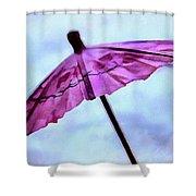 Dreaming Of Rain Shower Curtain