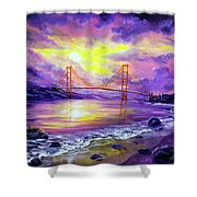 Dreaming Of San Francisco Shower Curtain