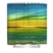 Dreaming Of The Sun Shower Curtain