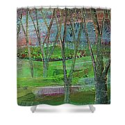 Dreaming Trees Shower Curtain
