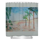 California Beach Shower Curtain