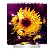 Dreams 4 - Sunflower Shower Curtain