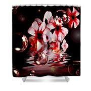 Dreams 5 - Floral Shower Curtain