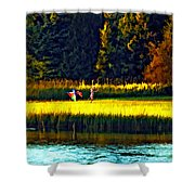 Dreams Can Fly Paint Shower Curtain