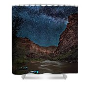 Dreams Fo Boats Shower Curtain