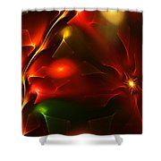Dreams Of Christmas Past Shower Curtain