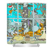 Dreams Of Fish Shower Curtain