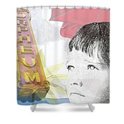 Dreams Of Memphis Shower Curtain