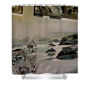 Dreams Of Serenity Shower Curtain
