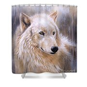 Dreamscape - Wolf II Shower Curtain