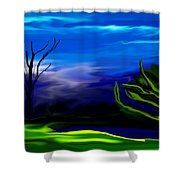 Dreamscape 062310 Shower Curtain