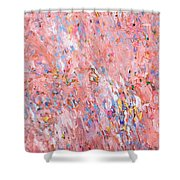 Dreamsicle Fields Forever Shower Curtain