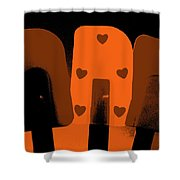 Dreamsicles Shower Curtain