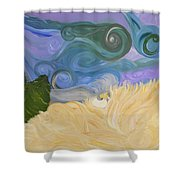 Dreamweaving  Shower Curtain