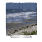 Dreamy Beach In North Carolina Shower Curtain