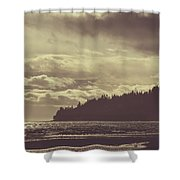 Dreamy Coastline Shower Curtain