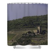 Dreamy Gutenfels Castle Shower Curtain