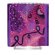 Dreamy Abstract Shower Curtain