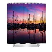 Dreamy Marina Shower Curtain