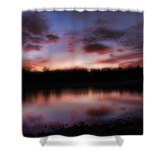 Dreamy Morning View Shower Curtain