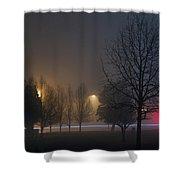 Dreamy Nightmare Shower Curtain