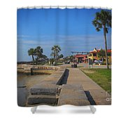 Dreamy St Augustine Florida Shower Curtain