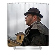 Dreary Day Shower Curtain