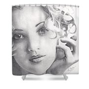Drew Barrymore Shower Curtain