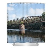 Drew Bridge Shower Curtain