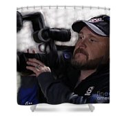 Dre The Drone King Shower Curtain