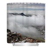Drfiting Fog Shower Curtain