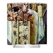 Dried Floral Still Shower Curtain