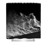 Drift #4 Shower Curtain