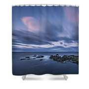 Drifting Clouds I Shower Curtain