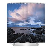 Drifting Clouds II Shower Curtain