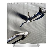 Drifting Sand Shower Curtain