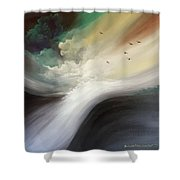 Drifting Souls Shower Curtain