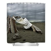 Drifts And Clouds Shower Curtain