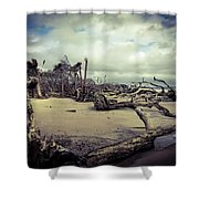 Driftwoods Shower Curtain