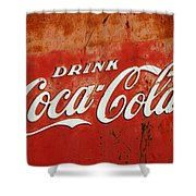Drink Coca Cola  Shower Curtain