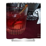 Drink Up Shower Curtain