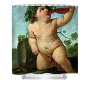 Drinking Bacchus Shower Curtain