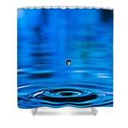 Drip Drop Shower Curtain