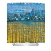 Dripcity Shower Curtain